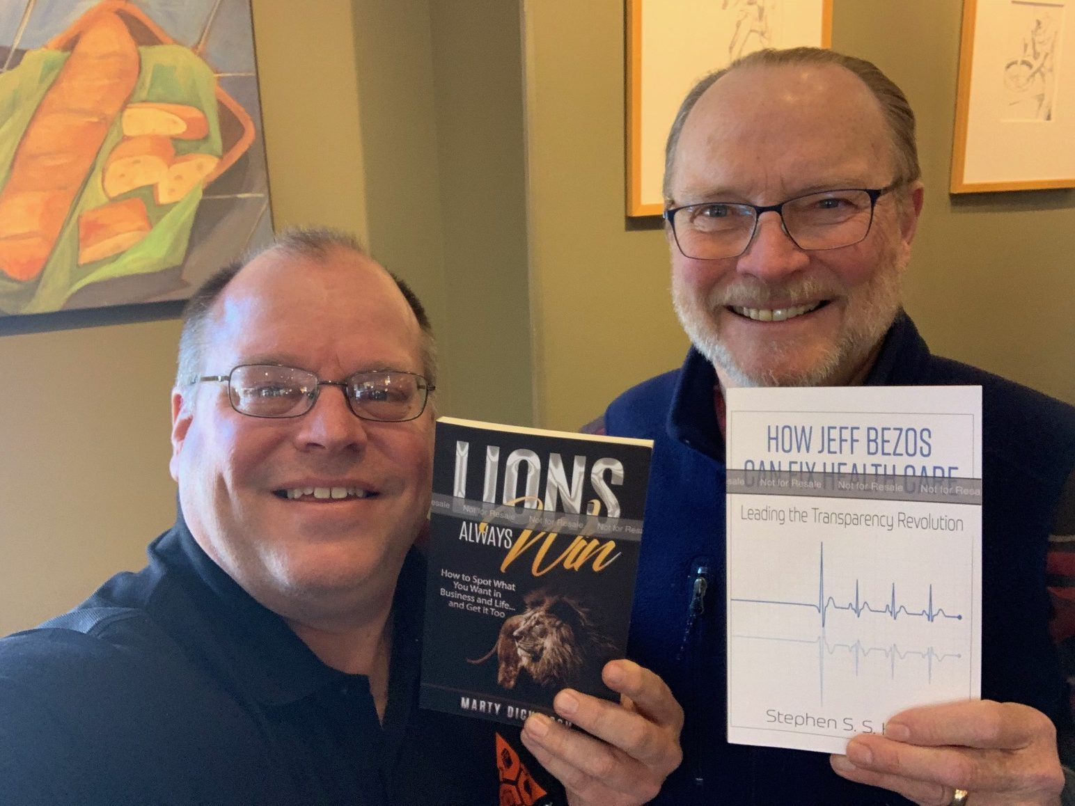 New Non-Fiction books by authors Marty Dickinson and Steve Hyde