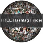 Free hashtag finder header graphic
