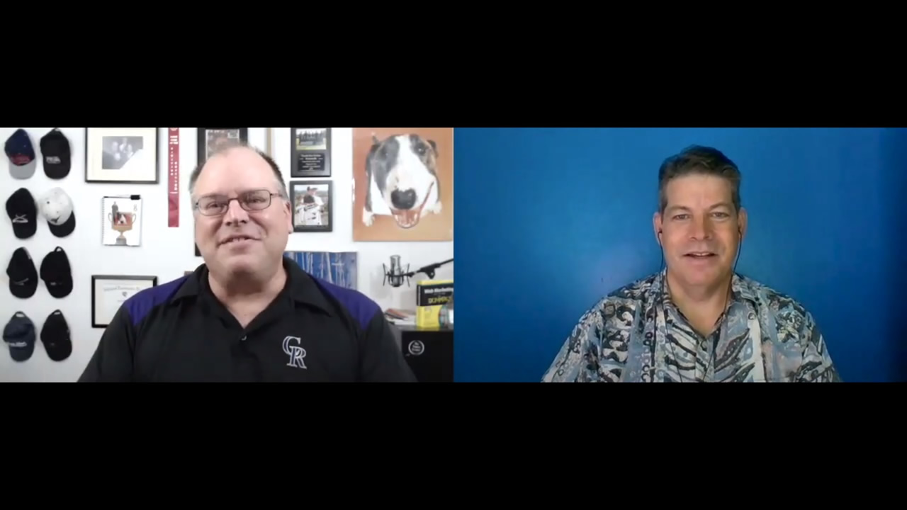 Positive People Progressing Episode 2 guest for public speaking topic Rich Hopkins and Facilitated by Marty Dickinson