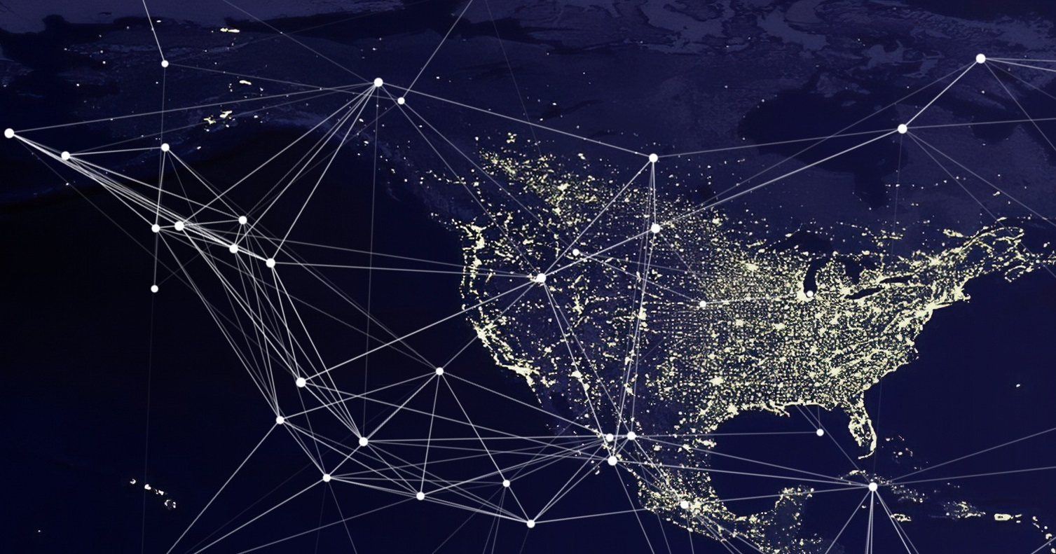 Website traffic methods image showing U.S. and North America traffic