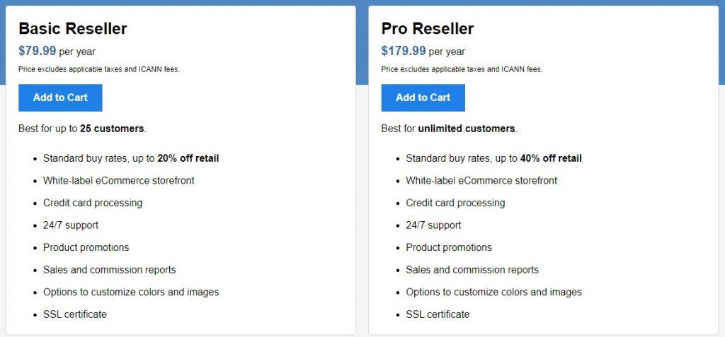Best domain name reseller program options