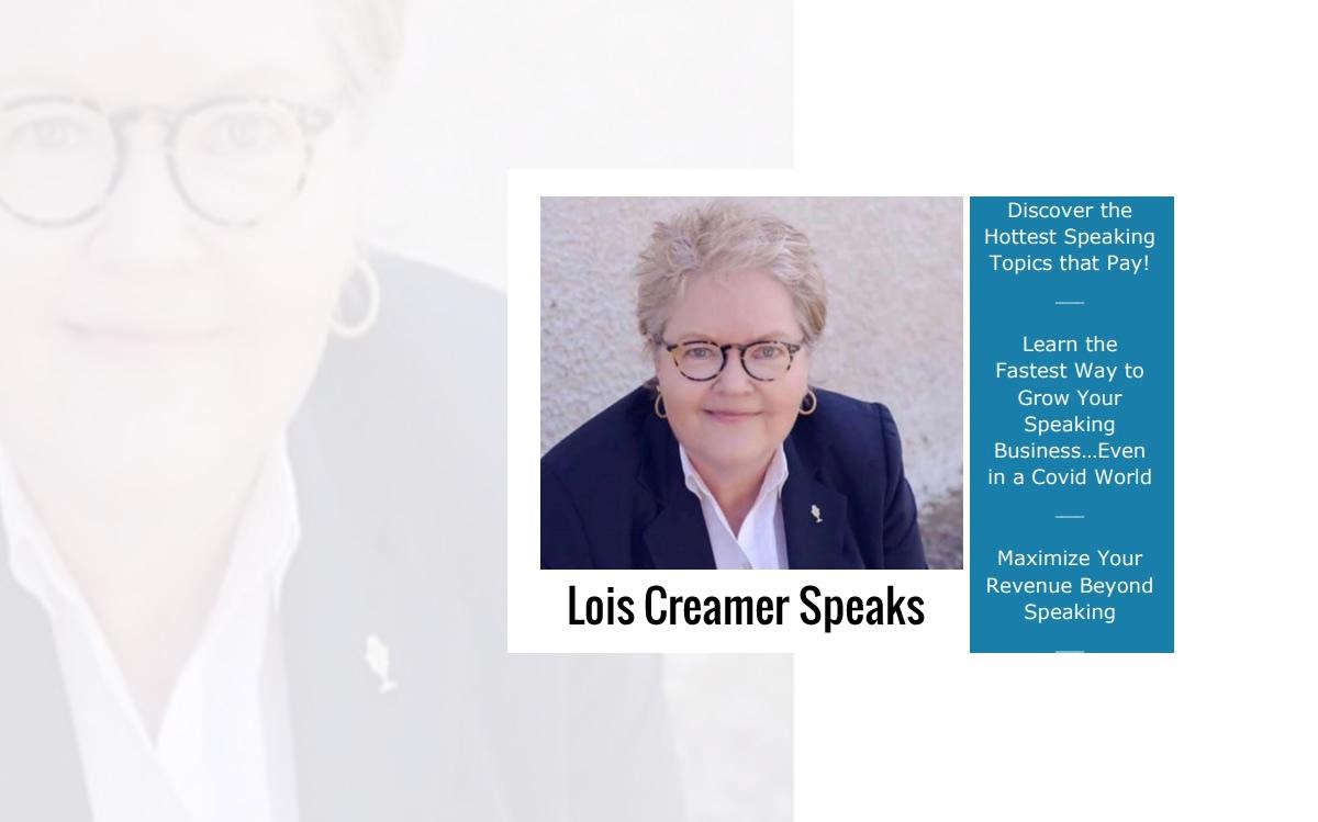 Lois Creamer Speaking