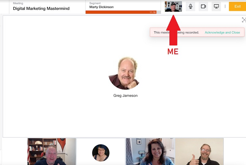 Mastermind meeting image as an example of revenue stream for professional speakers